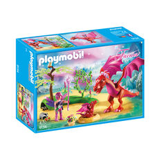 PLAYMOBIL® Fairies Drachenmama mit Baby 9134