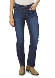 PADDOCK'S High-waist Stretch Jeans KATE, dk.blue using