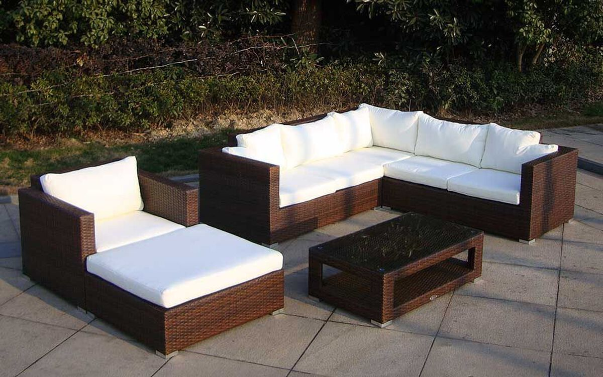 baidani rattan garten lounge sunset karstadt online shop. Black Bedroom Furniture Sets. Home Design Ideas