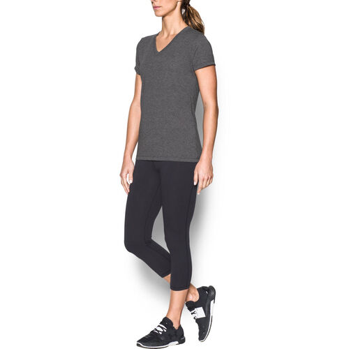 Under Armour Damen T-Shirt Threadborne Train Twist, grau meliert, M Preisvergleich