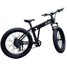 "LLobe Alu Elektro Mountain Fat Bike 26 Zoll, ""Bullrock"""