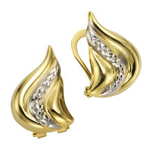 Celesta Gold Ohrclips 333/- Gelbgold