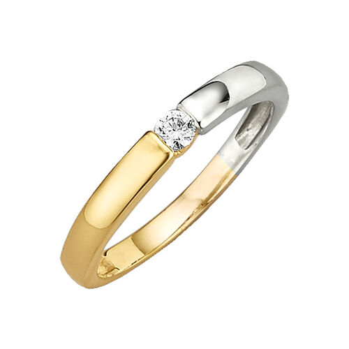 Jacques Lemans Ring 375/- Gold, 56
