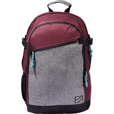 O'Neill Backpack, bordeaux/grau