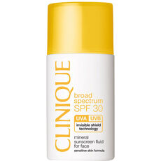 Clinique SPF 30 Mineral Sunscreen Fluid for Face, 30 ml