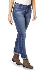 PADDOCK'S 5-Pocket Jeans TRACY, medium stone