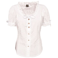 OS Trachten Damen Dirndlbluse, Regular fit