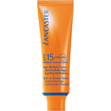 Lancaster Sun Beauty Care, Silky Touch Cream Radiant Tan SPF 15, Sonnencreme, 50 ml