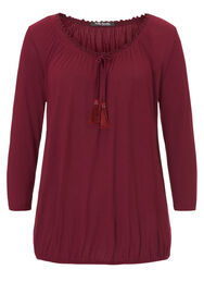 Betty Barclay Shirtbluse, dunkelrot - Rot