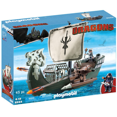 PLAYMOBIL® Dragons Dragos Schiff 9244