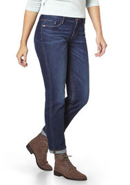 PADDOCK'S 5-Pocket Jeans TRACY, dark stone