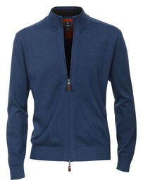 Redmond Strickjacke, blau