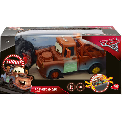 Dickie Toys RC Cars 3 Turbo Racer Mater