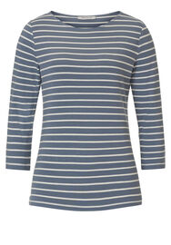 Betty Barclay Shirt, Blau/Weiß - Blau