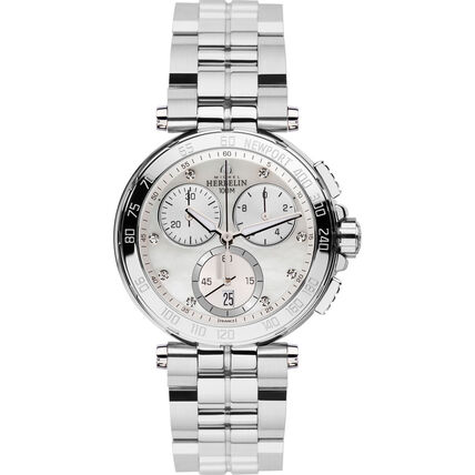 "Michel Herbelin Damen Chronograph Newport ""33696/B59"""