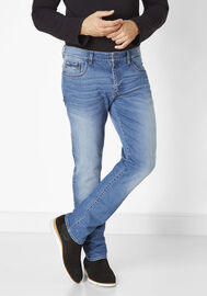 Redpoint Stretch 5-Pocket Jeans Barrie, medium stone used