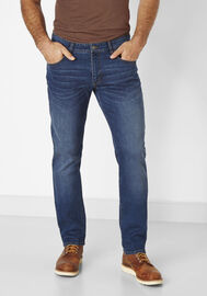 Redpoint Stretch 5-Pocket Jeans Barrie, dark stone used