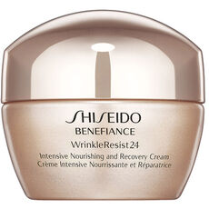 Shiseido Benefiance WrinkleResist24 Intensive Nourishing and Recovery Cream, 50 ml