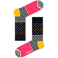 Happy Socks Socken gestreift und gepunktet