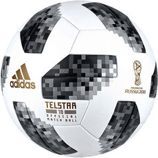 adidas Official Match Ball Telstar 18, weiß/schwarz