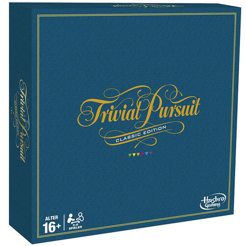 Hasbro Gaming Trivial Pursuit, Classic Edition