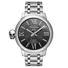 THOMAS SABO Herrenuhr Rebel with Karma Edelstahl