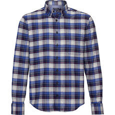 Peckott Herren Freizeithemd, Modern Fit, Button Down