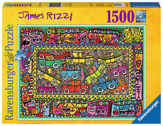 Ravensburger James Rizzi: We are on our way to your party