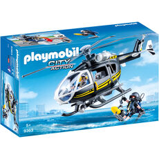 PLAYMOBIL® City Action SEK-Helikopter 9363