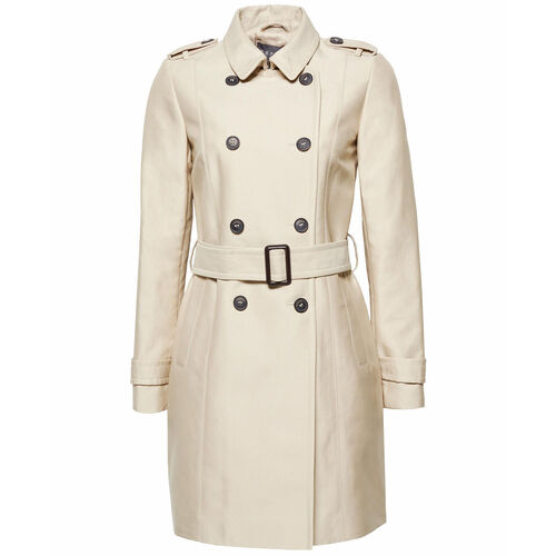 Esprit Collection Damen Trenchcoat, beige, 38 | Bekleidung > Mäntel > Trenchcoats | Esprit Collection