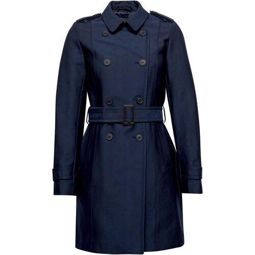 Esprit Collection Damen Trenchcoat, marine, 44 | Bekleidung > Mäntel > Trenchcoats | Esprit Collection