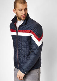 S4 Jackets sportliche Übergangsjacke Outer Limits, navy/racing red/white