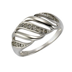 Diamonds by Ellen K. Ring 925/- Sterling Silber Diamant 0,18ct., 50