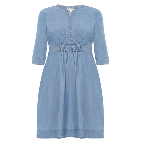 Studio 8 Mildred Chambray Dress, jeansblau