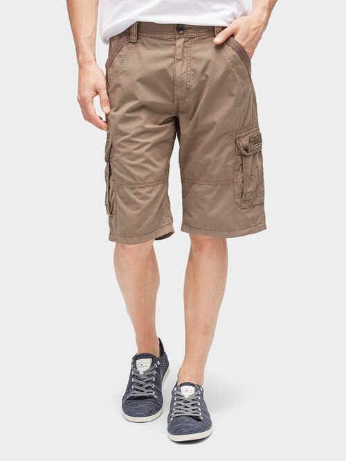 Tom Tailor Hosen & Chino Morris Relaxed Bermuda Shorts, faded leather brown, 36