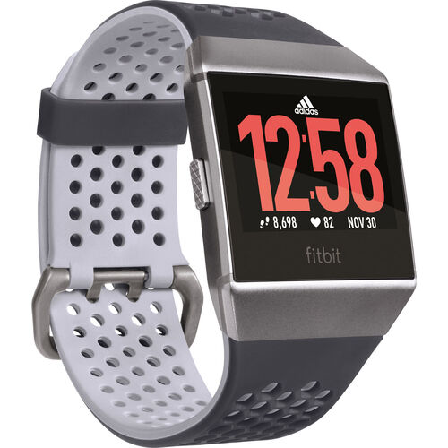 fitbit Health and Fitness Smartwatch Ionic, Adidas-Edition | Uhren > Smartwatches | fitbit