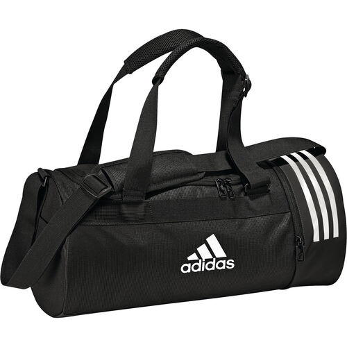 adidas Trainingstasche Convertible 3-Stripes, Gr. S, schwarz