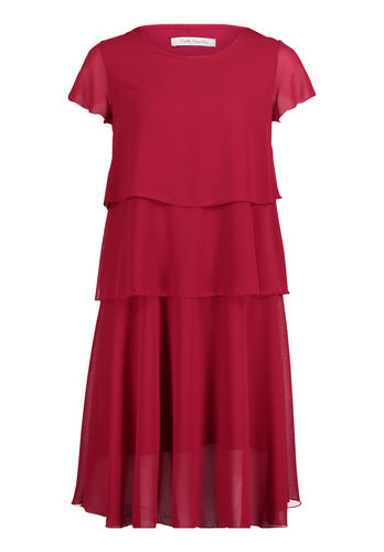 Betty Barclay Stufenkleid, pink - Pink, 40