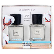 "Ipuro Geschenk-Set ""Essentials Cotton Fields"", 2 x 50 ml"