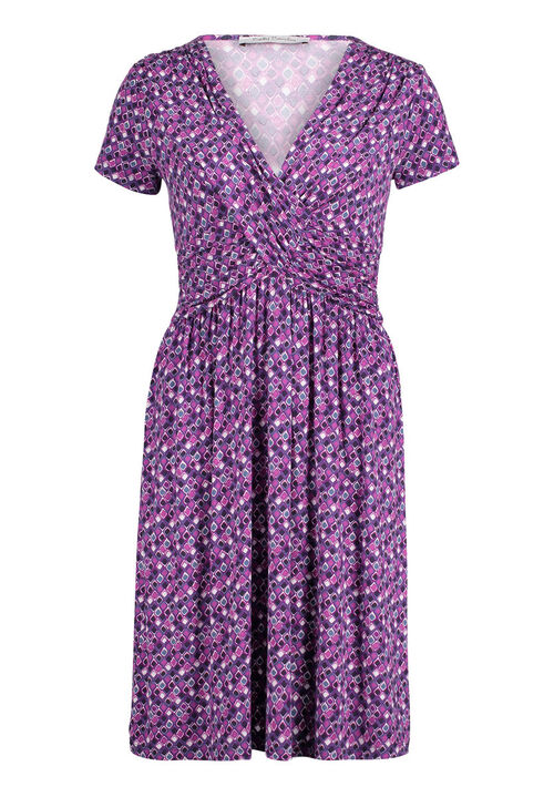 Betty Barclay Jerseykleid, Purple/Pink - Violett, 38 | Bekleidung > Kleider > Jerseykleider | Betty Barclay