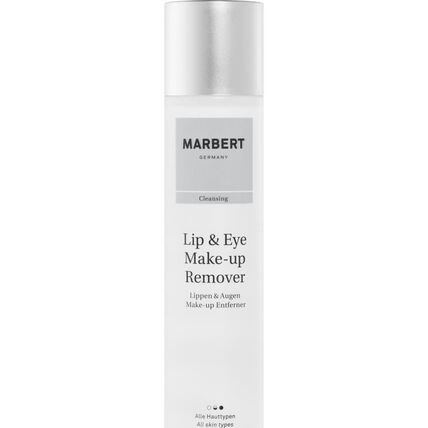 Marbert Easy Lip & Eye Makeup Remover, Make-Up Entferner, 200 ml