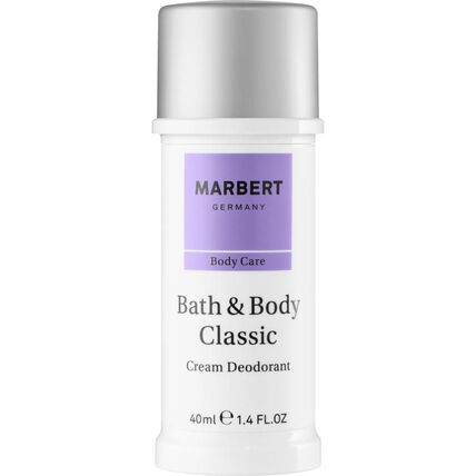 Marbert Bath & Body Classic, Deodorant Stick, 40 ml