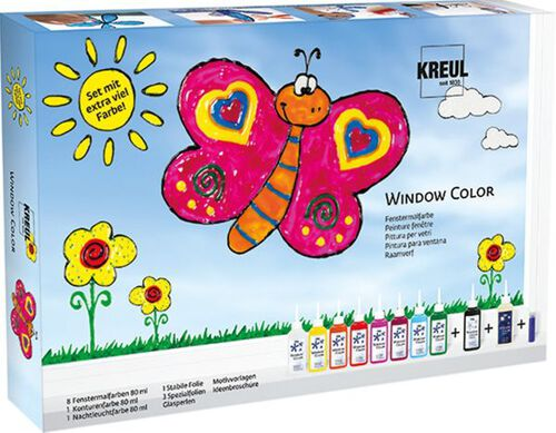 C. KREUL KREUL Window Color Set mit extra viel ...