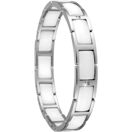 "Bering Armband ""602-15-185"", silber/weiß"