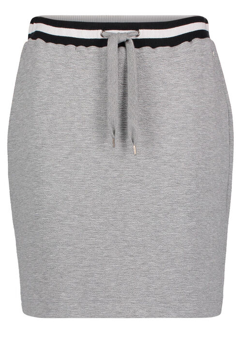 Betty & Co Jerseyrock, Light Silver Melange - Grau, 38 | Bekleidung > Röcke > Jerseyröcke | Betty & Co