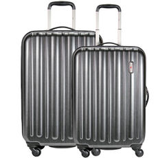 Hardware Profile Plus Braker 4-Rollen Trolley Set 2tlg., metallic grey brushed