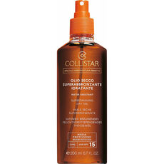 Collistar Supertanning Moisturizing SPF15, Sonnenöl, 200 ml
