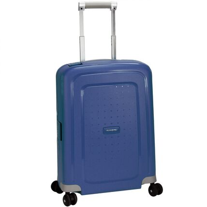 Samsonite S'Cure Spinner 4-Rollen Kabinen-Trolley 55 cm, dark blue