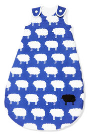 "Pinolino Kugelschlafsack Winter ""Happy Sheep"", blau"