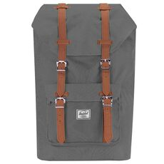 Herschel Little America Backpack Rucksack 52 cm Laptopfach, grey tan synthetic leather